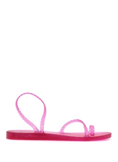 Ancient Greek Sandals Sandalet Fuşya